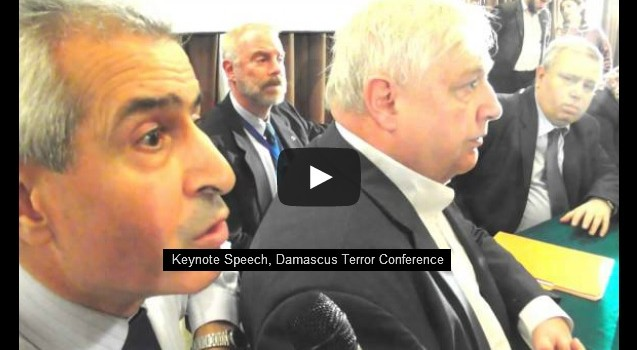 Gordon Duff Syria Conference Damascus