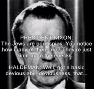 nixon-the-jews-are-born-spies